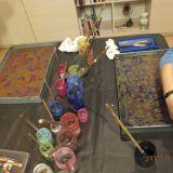 Ebru meno terapija